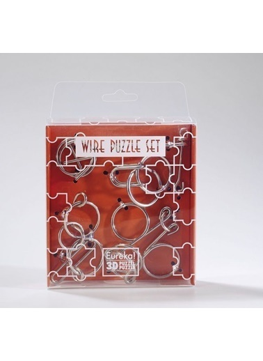 Educa Eureka Wire Puzzle Set-Orange Renkli